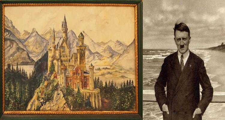 Adolf Hitler'in tabloları yüzbinlerce dolara satılıyor