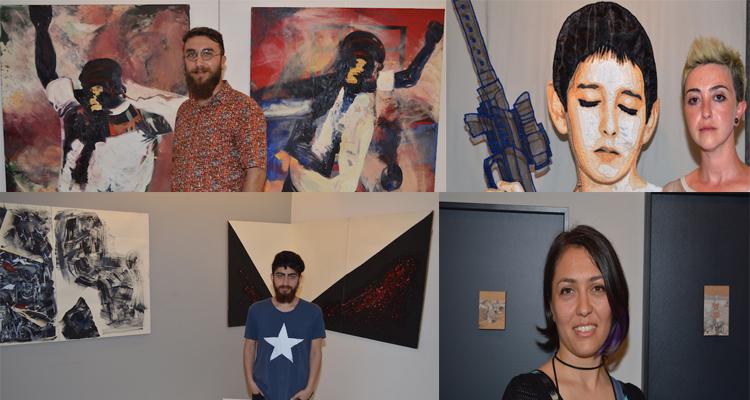 Mine Sanat Galerisi'nde PostHoc sergisi açıldı