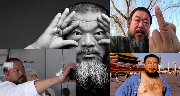 Ai Weiwei mültecilerle
