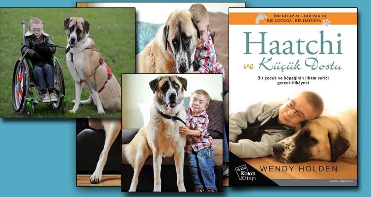 Haatchi ve Küçük Dostu kitap