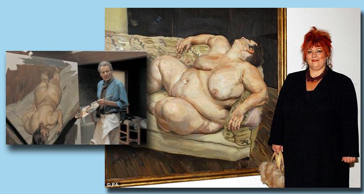 Lucia Freud tablosu