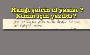 Turgut Uyar şiir