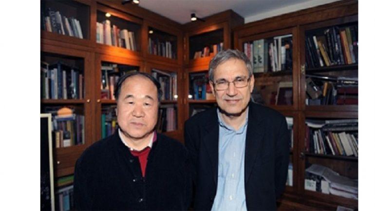 Mo Yan ve Orhan Pamuk Buluşması