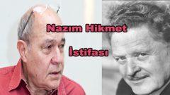 Gündüz Vassaf'tan Nazım Hikmet istifası