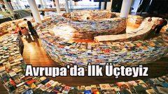 Türkiye Kitap Çeşitliliğinde Avrupa'da 3.