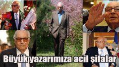 Yaşar Kemal hastanede
