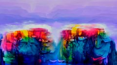 KAV'da Düşler Sahnesi tabloları