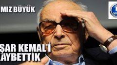 Yaşar Kemal'i Anma Töreni