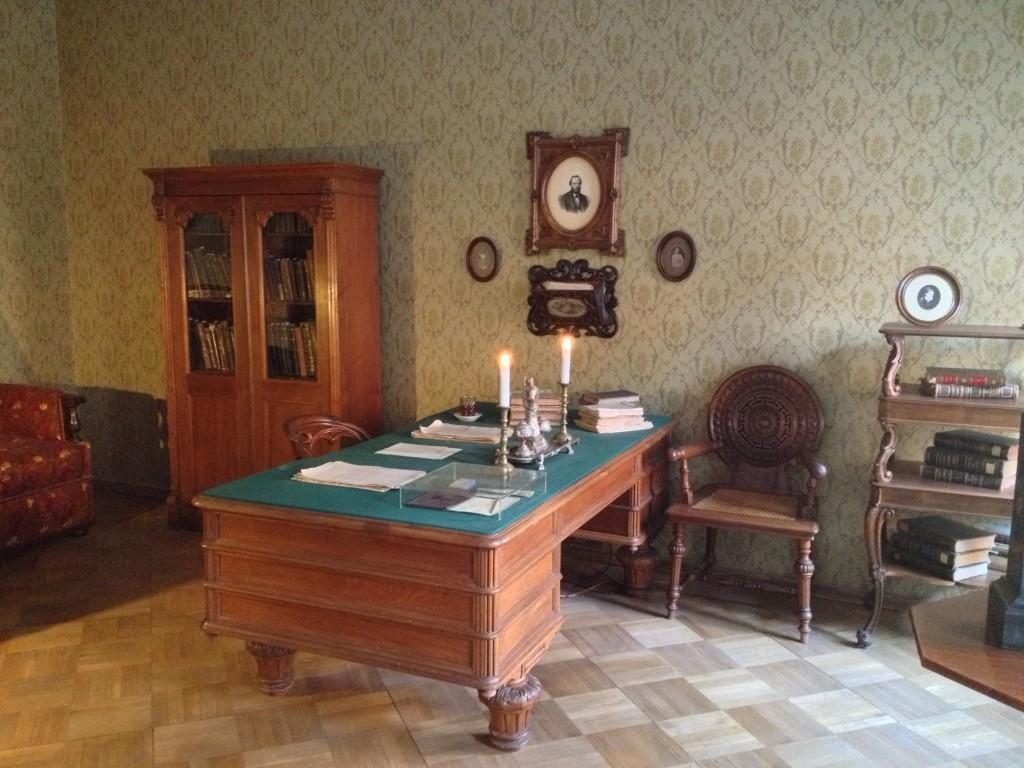 Dostoyevski'nin çalışma odası