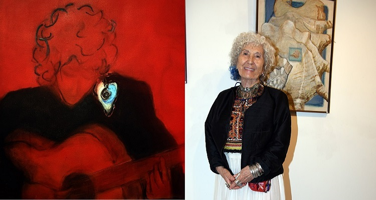 Mürvet Güzelsoy eserlerini Kalp Vakfı yararına satışa sundu