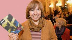 NOBEL Edebiyat Ödülü Svetlana Alexiyeviç'in