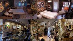 Balat'ta yatak-yorganlı gerçek bir sanat evi