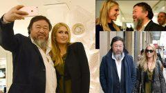 Paris Hilton ve Ai Weiwei samimiyeti