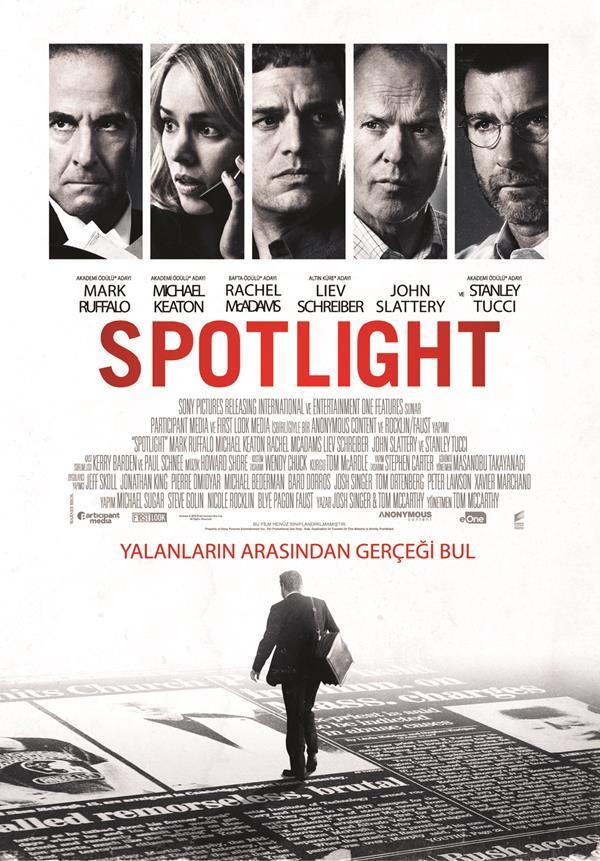 en iyi film oscar'ı spotlight