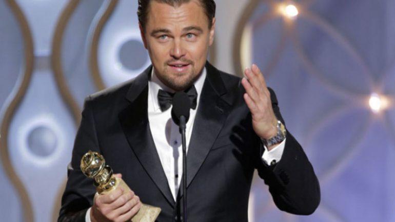 Leonardo Dicaprio Oscar konuşması ile alkış aldı