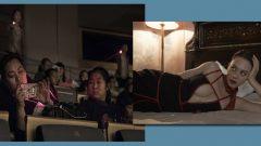 Demet Evgar'ın tiyatroda cep telefonu isyanına lazerli çözüm