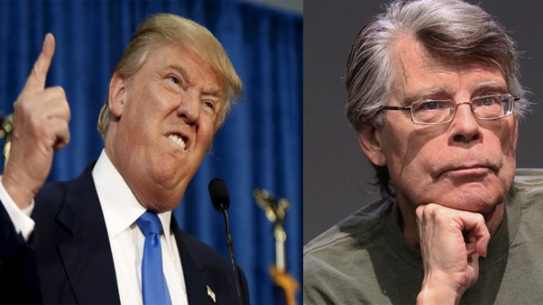 Stephen King Donald Trump karşı karşıya