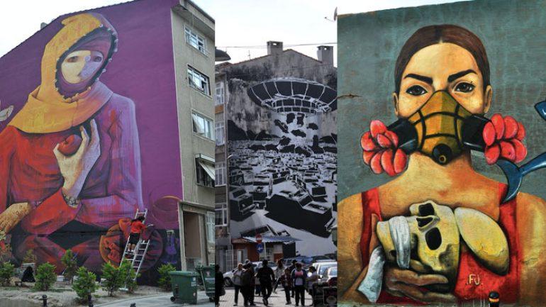 Kadıköyde Duvar Resimleri Festivali 724 Kültür Sanat