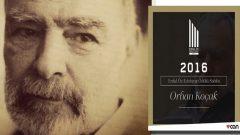 Erdal Öz Edebiyat Ödülü Orhan Koçak'a verildi