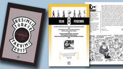Resimli Türkçe Edebiyat Takvimi yeni yıl hediyesi