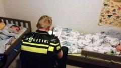Polisin kitap okuma desteği