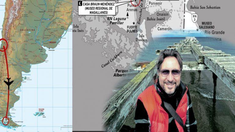 Dünyanın dibindeki şehir Punta Arenas