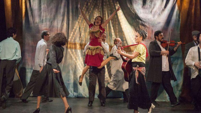 Semaver ve Kumpanya Çevre Tiyatrosu'nda