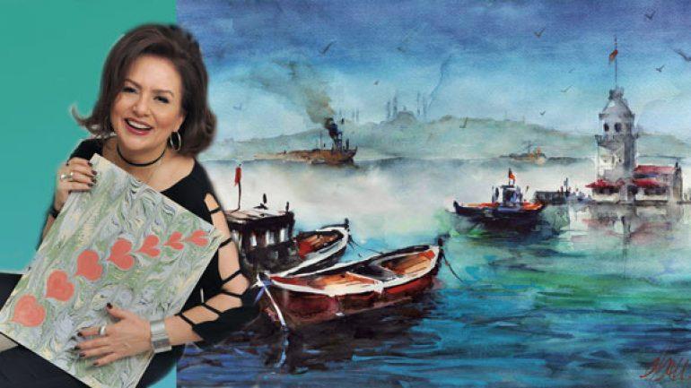 Ebru Kalgay resim sergisi