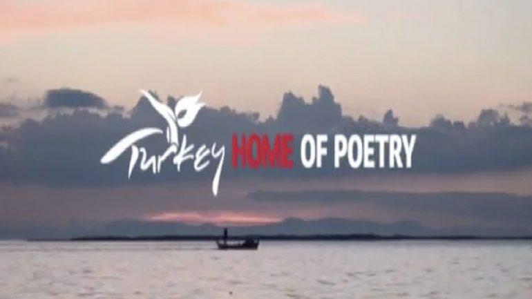 Türkiye tanıtım filminde şairler ve şiirler