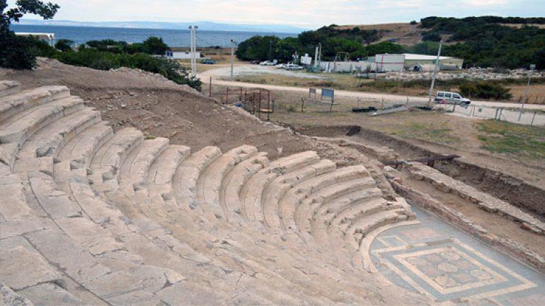 Türkiye'nin yeni Efes'i Çanakkale'de doğuyor