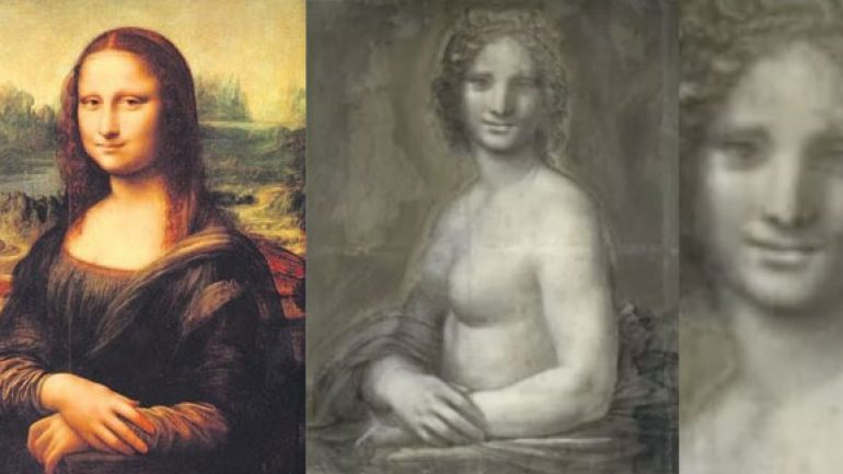 Mona Lisa çıplak