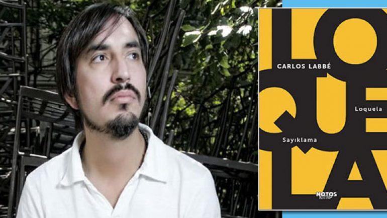 Şilili yazar Carlos Labbe Sayıklama romanıyla