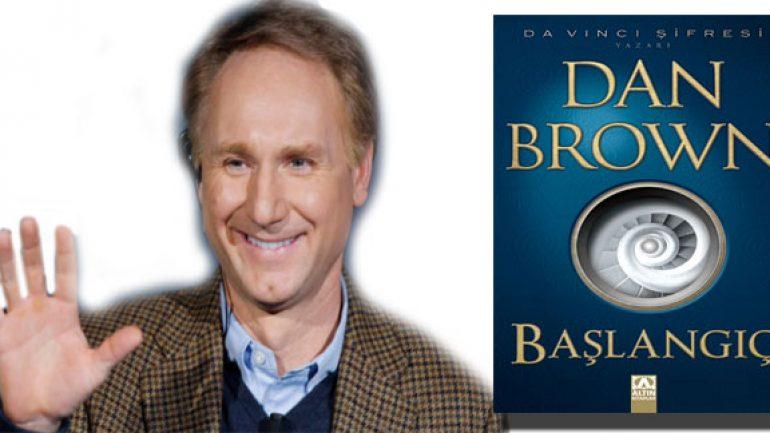 Dan Brown Başlangıç romanıyla raflarda