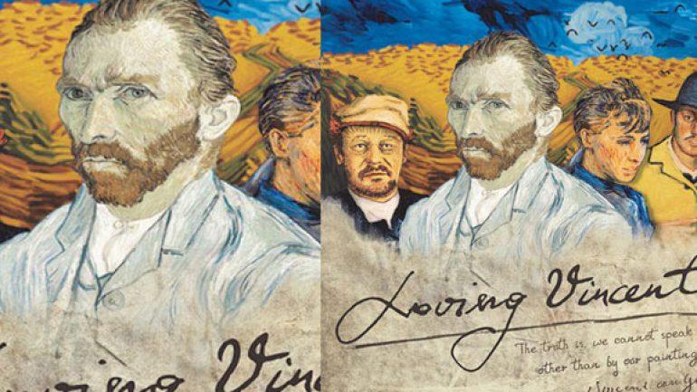 Loving Vincent filminin yapım aşamaları