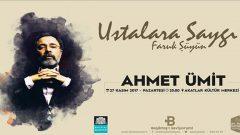 Ahmet Ümit'e saygı gecesi