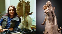 Yonca Saraçoğlu kadını heykel ve desenlerle anlattı