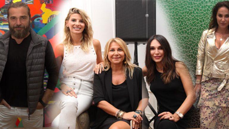 Artweeks@Akaretler ünlü simalarla açıldı