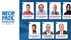 Necip Fazıl Ödülleri 2018 kazananları belli oldu