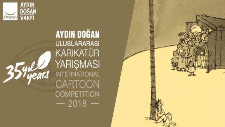 Aydın Doğan Uluslararası Karikatür Yarışması ödül töreni