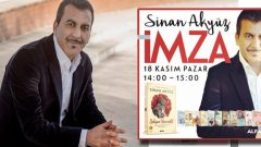 Sinan Akyüz imza günü İstanbul Kitap Fuarı'nda