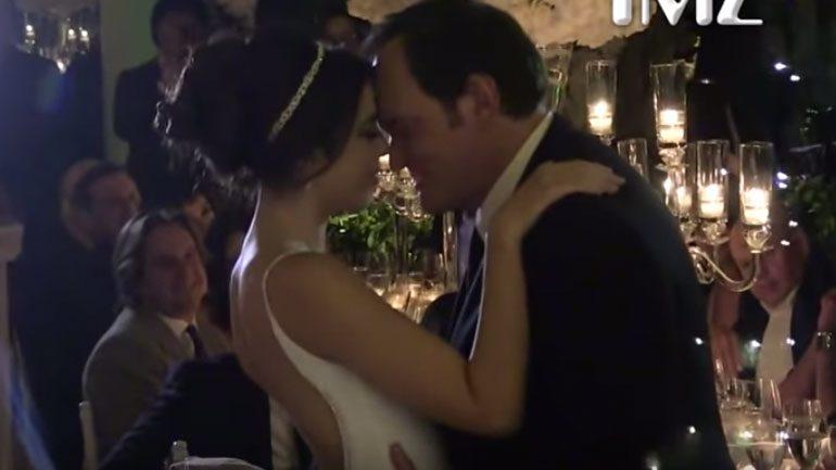 Tarantino evlendi unutulmayacak aşk dansının görüntüleri