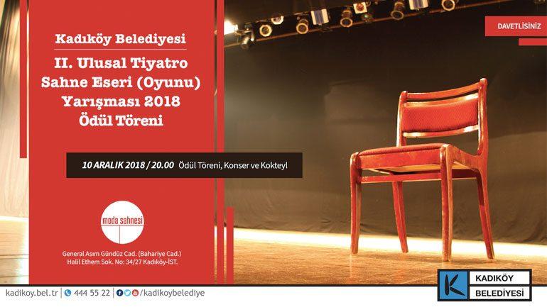 Ulusal Tiyatro Oyun Ödülleri sahiplerini buluyor