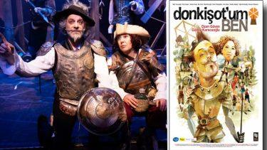 Ozan Güven Don Kişot oldu tiyatro sahnesine geldi