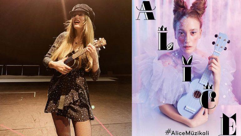 Serenay Sarıkaya'lı Alice müzikaline büyük ilgi