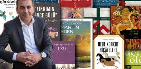 Yazar Sinan Akyüz'ün önerdiği 10 kitap