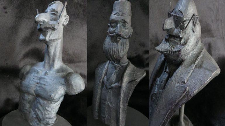Turhan Selçuk karikatürleri heykele dönüştü