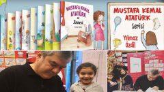 Yılmaz Özdil Mustafa Kemal'i çocuklar için kitaplaştırdı