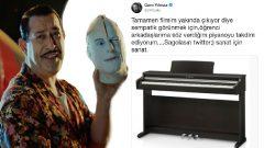 Cem Yılmaz filmdeki piyanoyu öğrencilere hediye ediyor