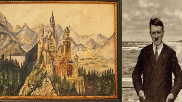 Hitler'in sahte tabloları yakalandı