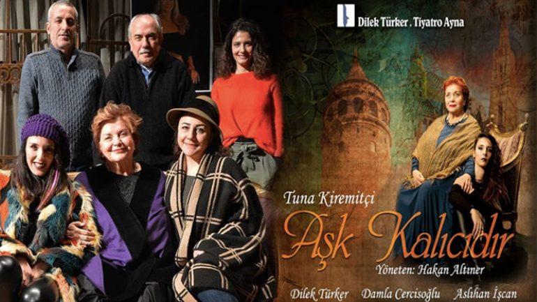 Aşk Kalıcıdır Tuna Kiremitçi romanından tiyatroya uyarlandı